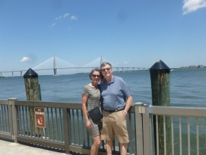 The Charleston ___ Bridge