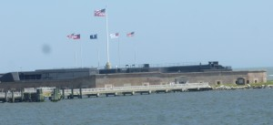 Fort Sumter - site of the opening salvos of the Civil War