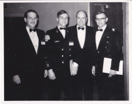 Don (2nd from left) his senior year with then Secretary of Defense Melvin Laird in Wash. DC