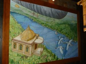 Mural in the St. John's Pub