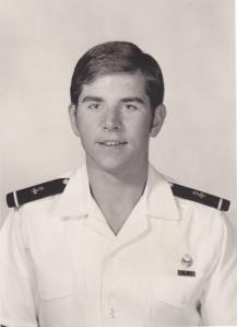 Rick as a naïve and idealist 4th class or freshman midshipman