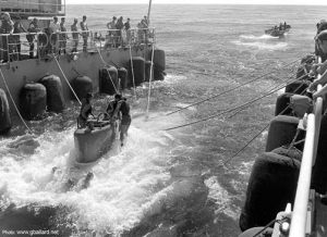 USS Sea Cliff Operations in the Pacific
