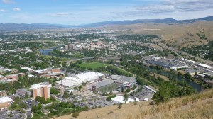 The University of Montana campus