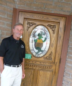 Denny Ferguson at the historic Cheerful Tortoise downtown
