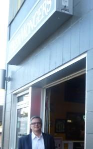 Former Portland Mayor, Sam Adams, Beerchasing at the Beer Monger in SE