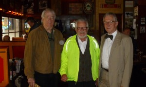 Beerchasers-of-the Quarter, John Terry and Jim Westwood in our 2012 visit to the historic Goose Hollow Inn