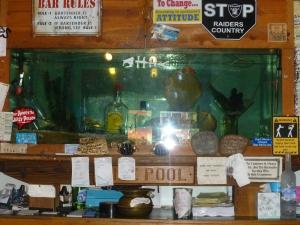 "The legendary ""Death Tank"" at the Tide Pool Inn in Depoe Bay"