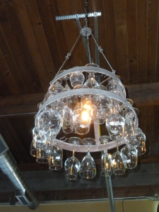 Nifty chandelier...