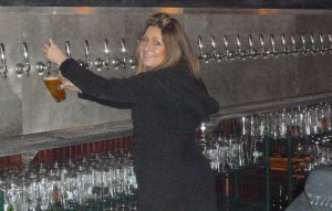 Hop N Cork co-owner and manager, Michelle Faubion
