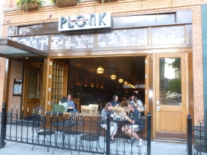 Plonk Wine Bar - sleek and classy