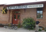Beer and conversation at the Kettlehouse Brewery
