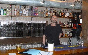 Dave, the friendly downstairs bartender.