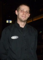 Affable and competent server, Jason.