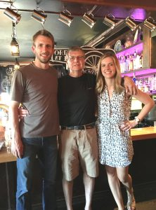 Thebeerchaser with his daughter and soon to be son-in-law