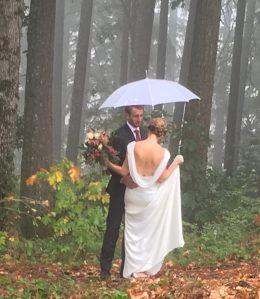 Rainy but a wonderful occasion