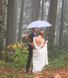 Rainy but a wonderful occasion
