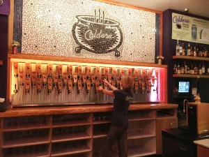 ___ beers on tap