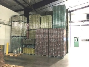 Cans shipped all over the world