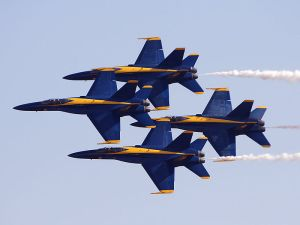 The Blue Angels - awe inspiring but raise some questions...