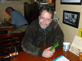 Author and wine drinker, Brian Doyle