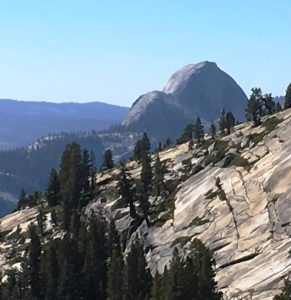 The Half Dome at Yosemite