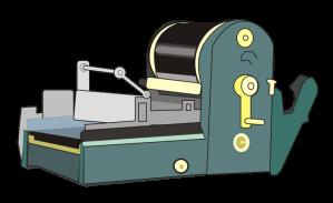 1980 Mimeograph Machine ?????