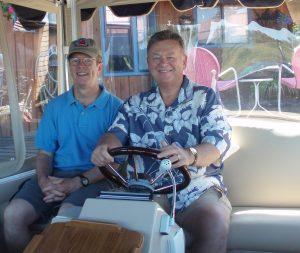 Boating ith noted blogger, Jack Bogdanski