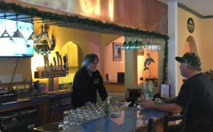 Bartender and owner, Tom Dreiske
