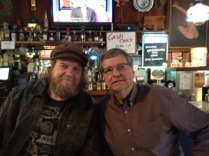 Irish Mike and Thebeerchaser at the Old O