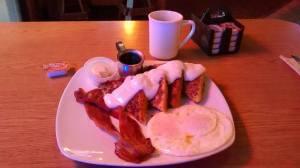 Power breakfasts....