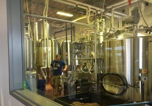 Nice view of the brewery in operation in Tualatin