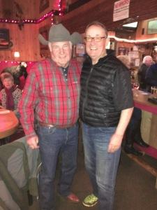 Patrick and cousin, Jerry Calavan