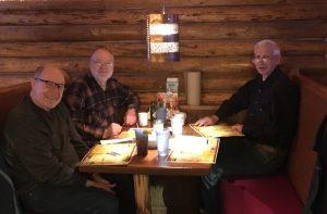 Still chugging after 50 years from graduation - Larson, Benski and Daiker