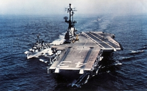 The USS Coral Sea - big like the burger named after it at Ancestry
