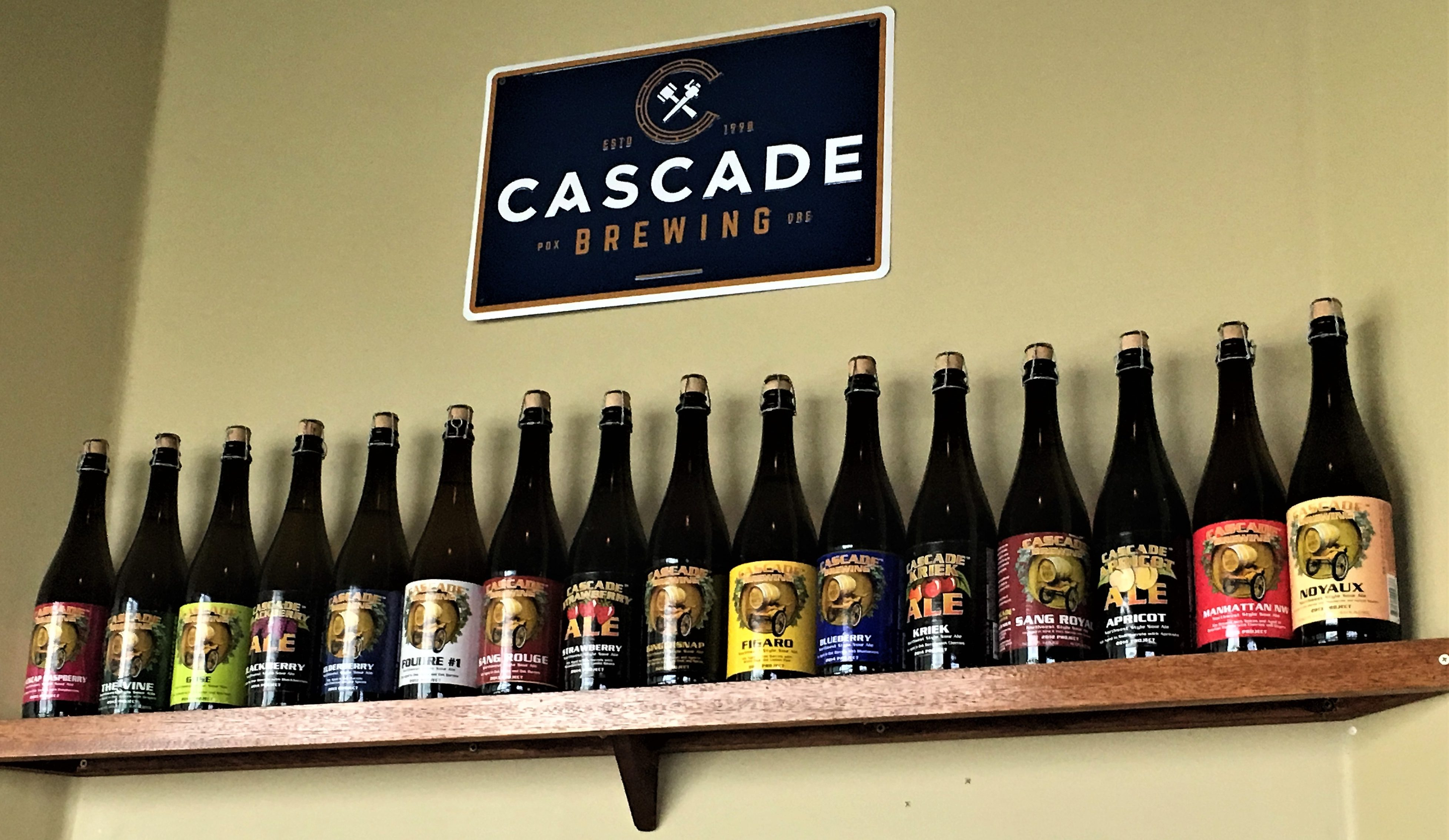 and boy do they have a wide range of bottled fruit beer selections enough for your quota of fruit for the month and possibly tempting you to plant the