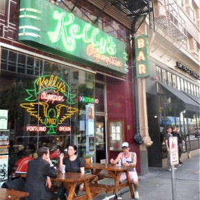 Kelly's Olympian in downtown Portland - a bar with great culture